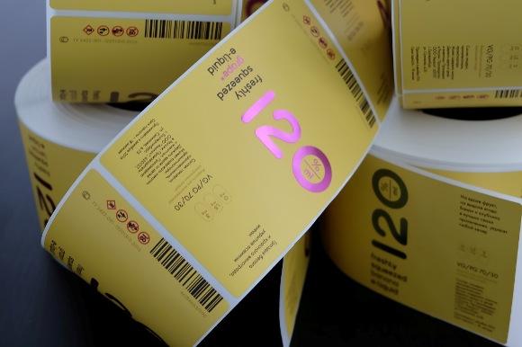 Напечатать этикетки для товара
