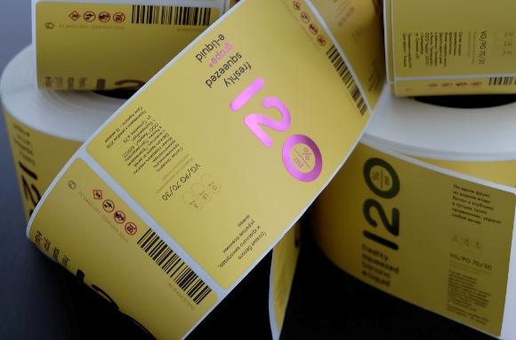 Этикетки в рулонах в типографии
