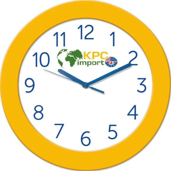 Фирменные часы с логотипом