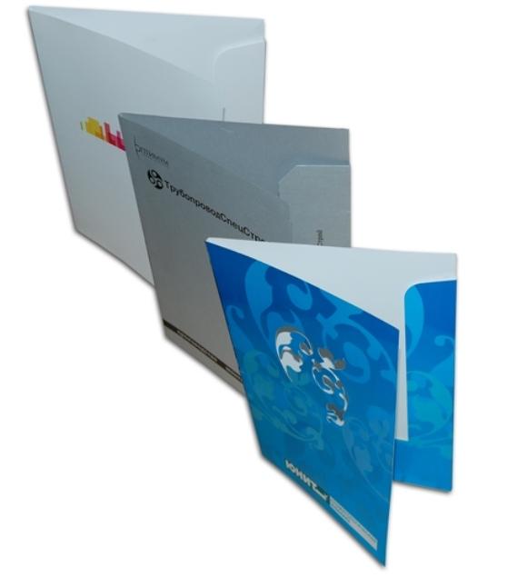 Напечатать брендированные папки