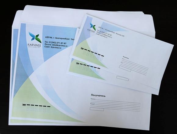 Печать конвертов срочно