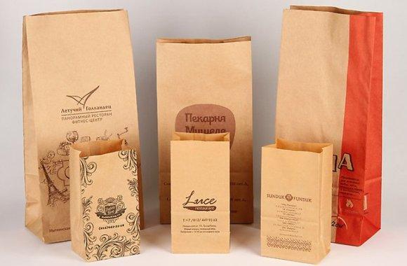 Разновидности пакетов с логотипом